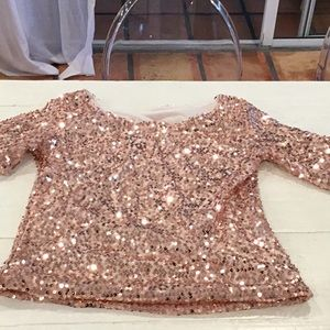 Sequence top rose gold